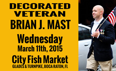 Brian j mast a man of conviction who stands for his for City fish market boca