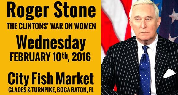 Roger Stone - Clintons' War on Women